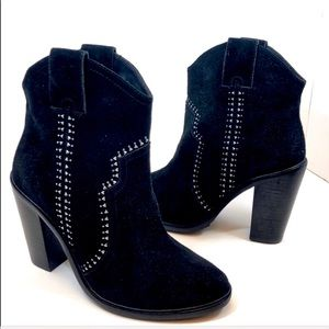 """13bdf56d513d NEW Joie """"Monte"""" Black Suede studded boot size 6.5"""